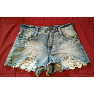 Pants - [Rarely Worn] Blue Jean Highwaist Shorts